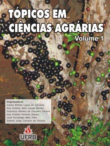 Livro Topicos em Ciencias Agrarias PDF - UFRB