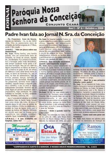 Outubro de 2008 - Paróquia Nossa Senhora da Conceição