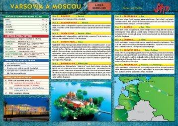 VARSÓVIA A MOSCOu - Bauer Turismo