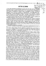 ACTA 6/2005 ú'äfzwv; z A cpu ,z 4 - Câmara Municipal de Mafra