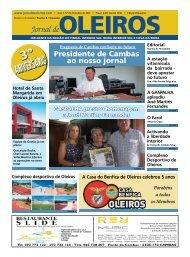 Edição de Outubro de 2012 - Jornal de Oleiros