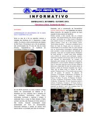 Boletim Informativo – Setembro/Outubro – 2010 - Sobre o Hospital