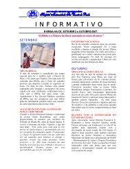 Boletim Informativo – Setembro/Outubro – 2007 - Sobre o Hospital