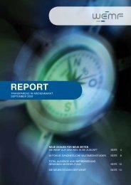 REPORT - WEMF AG für Werbemedienforschung