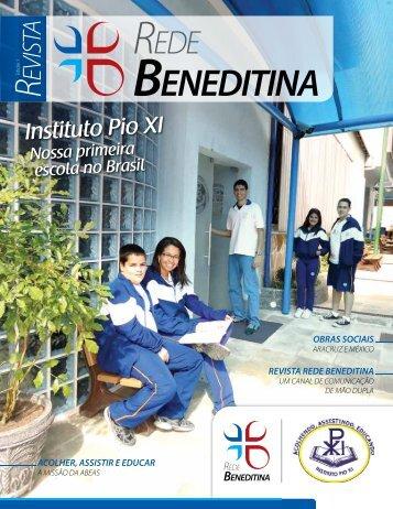 Edição 1 - agosto/setembro 2010 - Rede Beneditina