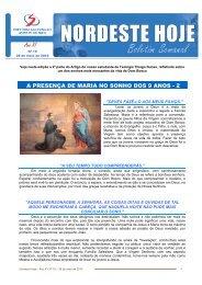 a presença de maria no sonho dos 9 anos - 2 - Inspetoria Salesiana ...