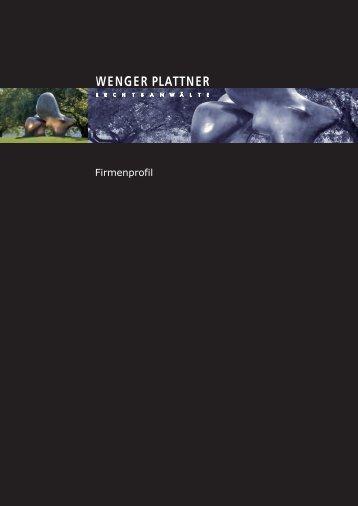 Firmenprofil - Wenger Plattner