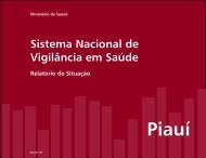 Relatório de Situação Piauí - BVS Ministério da Saúde