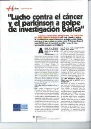 07/04/2011 Entrevista publicada en Agenda de - OTRI - Universidad ...