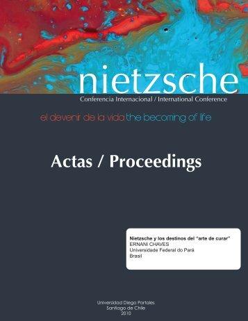 arte de curar - Nietzsche