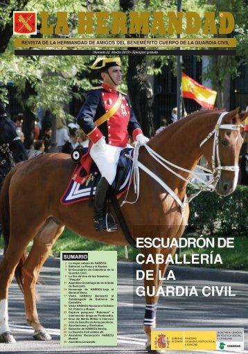escuadrón de caballería de la guardia civil - Revista de la ...