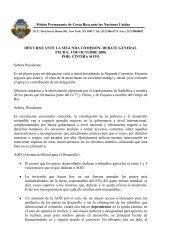 Misión Permanente de Costa Rica ante las Naciones Unidas ...
