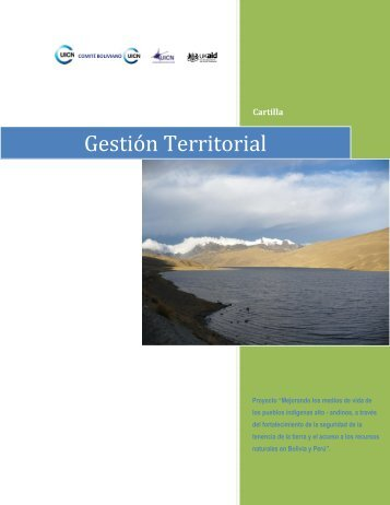 Gestión Territorial - IUCN