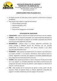 Ficha de Filiação - Portal Do Equino