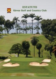 ESTATUTO - Gavea Golf and Country Club