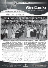 Boletim 02-2012 - Aline Correa