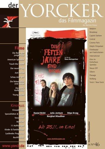 Yorcker Nr. 46 (Nov/Dez 2004) - Yorck Kino GmbH