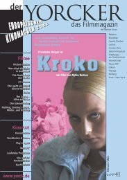 Yorcker Nr. 41 (Feb/März 04) - Yorck Kino GmbH
