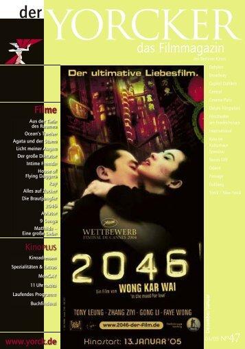 Yorcker Nr. 47 (Dez/Jan 04/05) - Yorck Kino GmbH