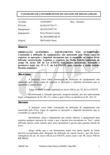 Microsoft Word - 18882081\252.doc - Secretaria de Estado de ...