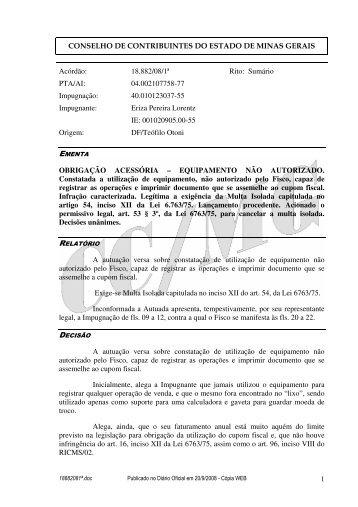 Microsoft Word - 18882081\252.doc - Secretaria de Estado de ...
