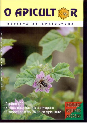 O Apicultor.pdf - Biblioteca Digital do IPB