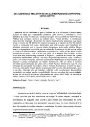MODALIDADE LICITATÓRIA CARTA-CONVITE - TCE - MS