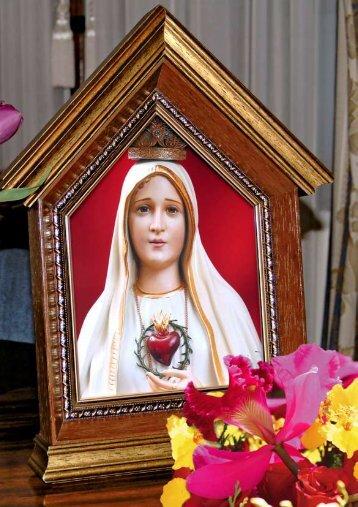 V No quinto mistério contemplamos a coroação de Nossa Senhora ...