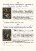 V No quinto mistério contemplamos a coroação de Nossa Senhora ... - Page 7