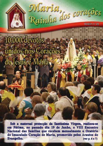 10.000 devotos unidos nos Corações de Jesus e Maria - Arautos em ...