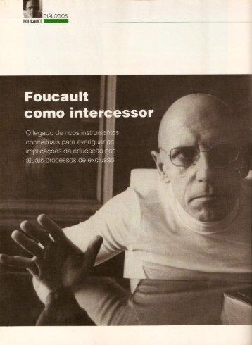 GADELHA, Sylvio Gadelha. Foucault como intercessor. Revista ...