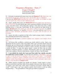 Perguntas e Respostas #17 - Message-Doctrine