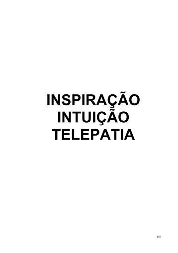 Intuição e Inspiração - BR25