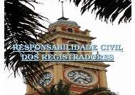 RESPONSABILIDADE CIVIL DOS REGISTRADORES - Arpen-SP