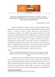 andrea martins alves silva - XV Encontro Regional de História ...