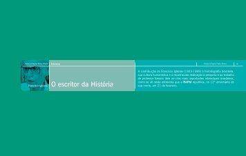 O escritor da História - Arquivo Público Mineiro