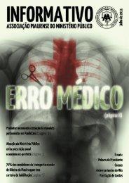 Informativo APMP – ERRO MÉDICO - Julho de 2011 - Associação ...