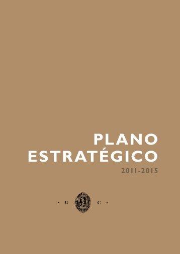 PLANO ESTRATÉGICO - Universidade de Coimbra