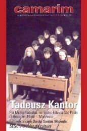 Tadeusz Kantor - Cooperativa Paulista de Teatro