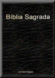 a bíblia sagrada - ccva de aveiro