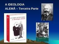 A IDEOLOGIA ALEMÃ – Terceira Parte - LeMarx-UFBA