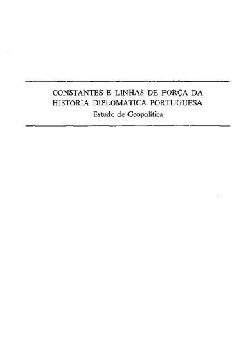CONSTANTES E LINHAS DE FORÇA DA HISTÓRIA DIPLOMÁTICA ...