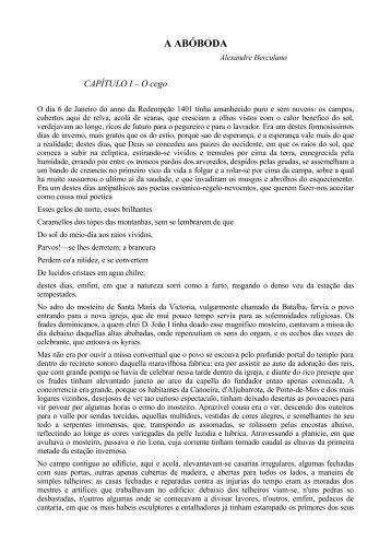 A ABÓBODA - BEMaior