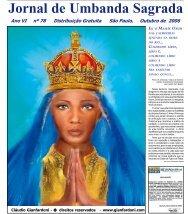 Ano 7 Ed 078 Out 2006 - Colégio de Umbanda Sagrada Pena Branca