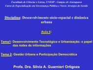 pdf-aula-4-araraquara - Governança Pública e Novos Arranjos de ...