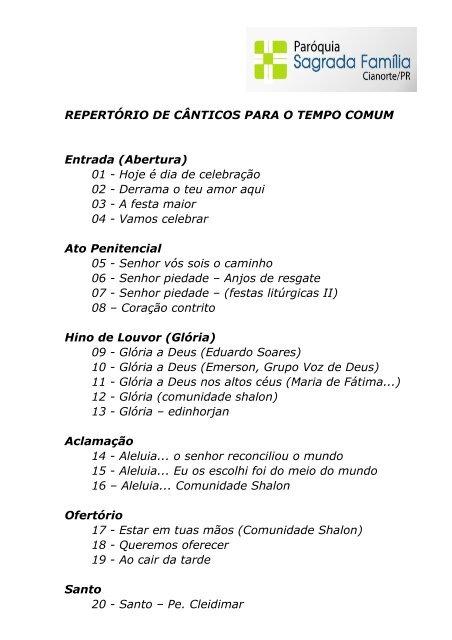 LITURGIA LITRGICOS CD - BAIXAR III CANTOS O