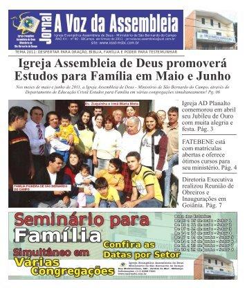 Jornal A Voz - Edição 90 - abril-maio 2011-cor - Valter Borges