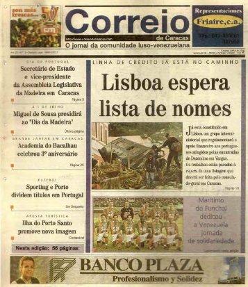 Versão PDF - correio de venezuela