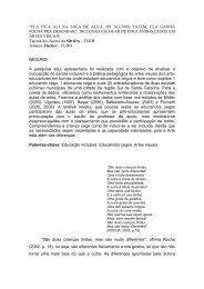 """""""ELA FICA ALI NA SALA DE AULA, OS ALUNOS FAZEM ... - ANPEd"""