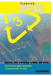 hacia un futuro libre de pvc: plastico - BVSDE Desarrollo Sostenible